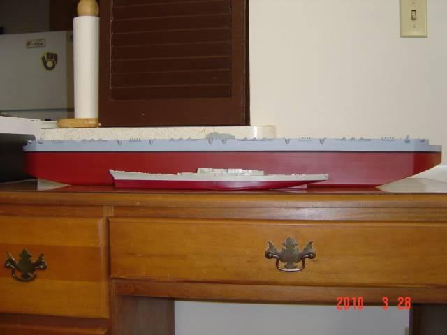HMS Habbakuk skala 1/700~Scratchbuild Project~~ DSC02955