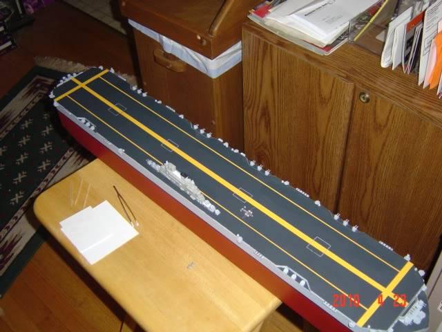 HMS Habbakuk skala 1/700~Scratchbuild Project~~ DSC03138