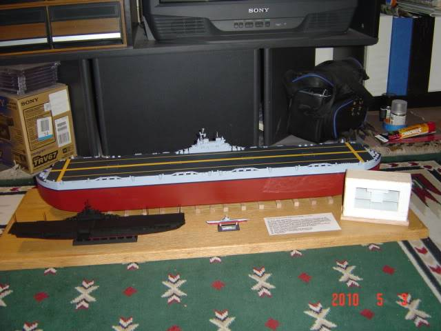 HMS Habbakuk skala 1/700~Scratchbuild Project~~ DSC03169