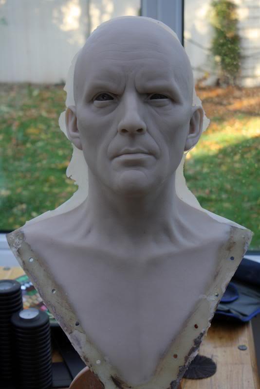 [Custom da Semana] General Zod - Life Size Bust - by RMFX.co.uk IMG_5000