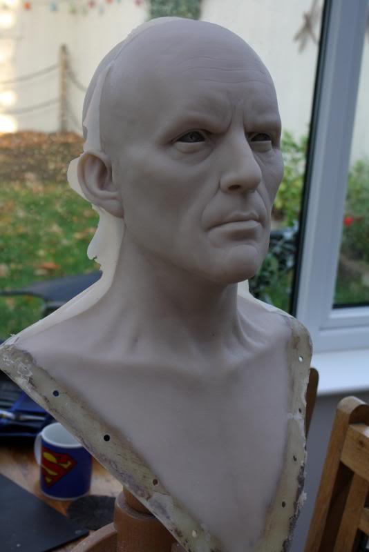 [Custom da Semana] General Zod - Life Size Bust - by RMFX.co.uk IMG_5001