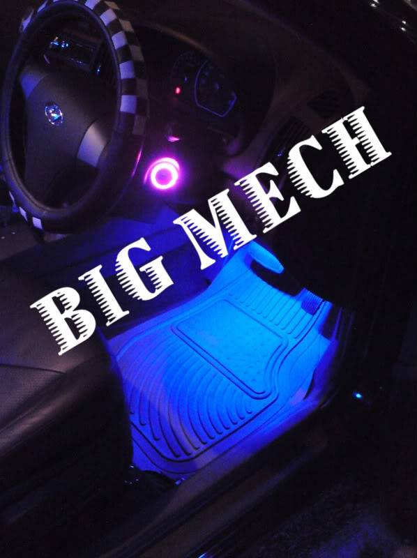 Big Mech illusionist futuristic magic hands led concept DSC00749