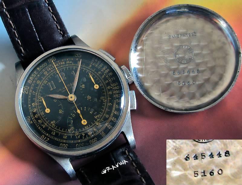 Les chronographes Universal Geneve de la série Compax - 1ère Partie 91a86ab8