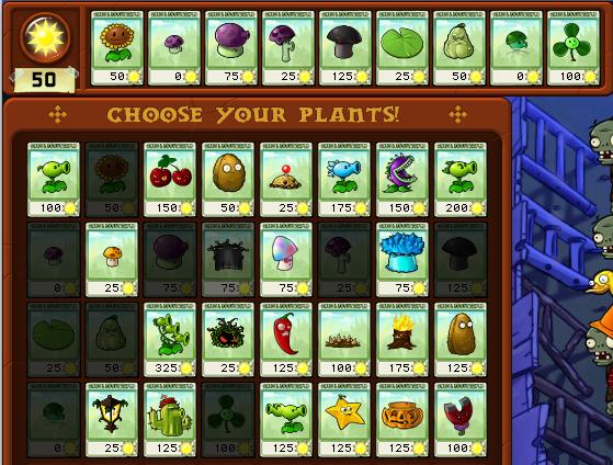 Pack de plantas de Plantas vs Zombies (nivel 4) 4-9
