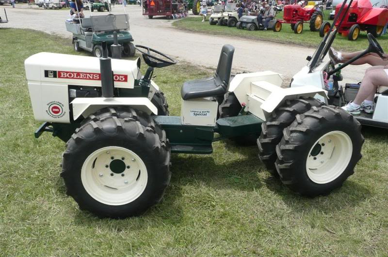 Bolens Tractor 4x4 : Idea for the easiest wd
