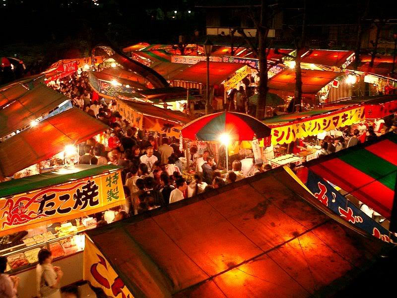 [Đời sống - Văn hóa] Các lễ hội tại Nhật 800px-YomiseYatai