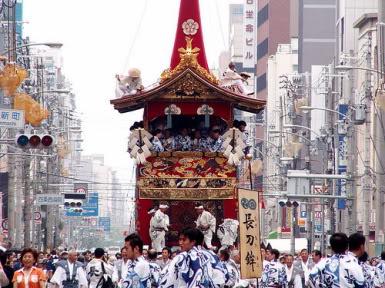 [Đời sống - Văn hóa] Các lễ hội tại Nhật Gion_Matsuri_Float