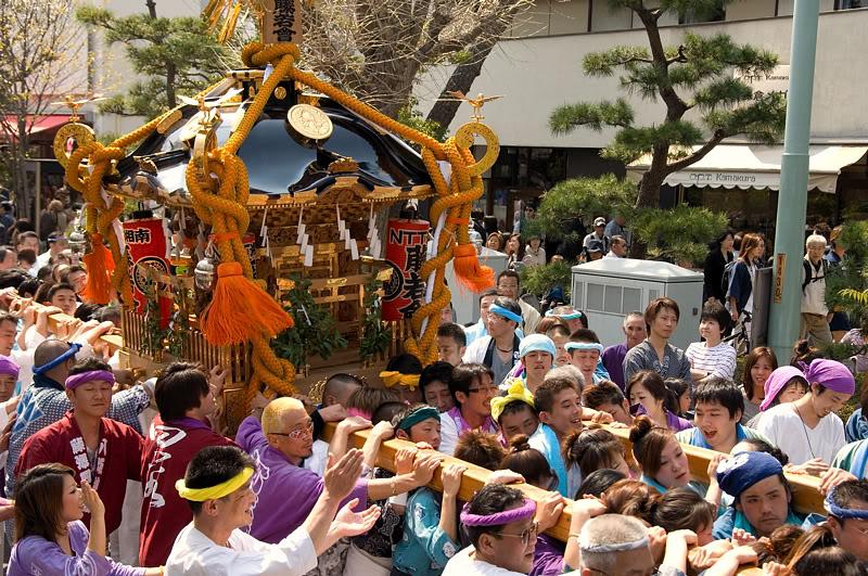 [Đời sống - Văn hóa] Các lễ hội tại Nhật Mikoshi1