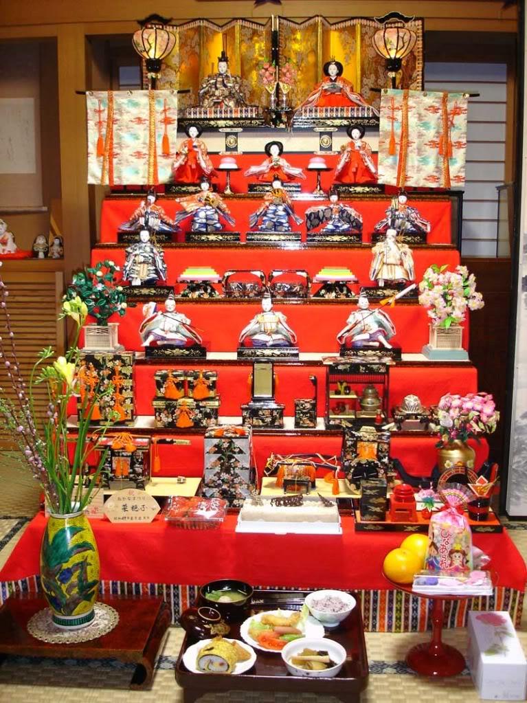 [Đời sống - Văn hóa] Các lễ hội tại Nhật Hinamatsuri