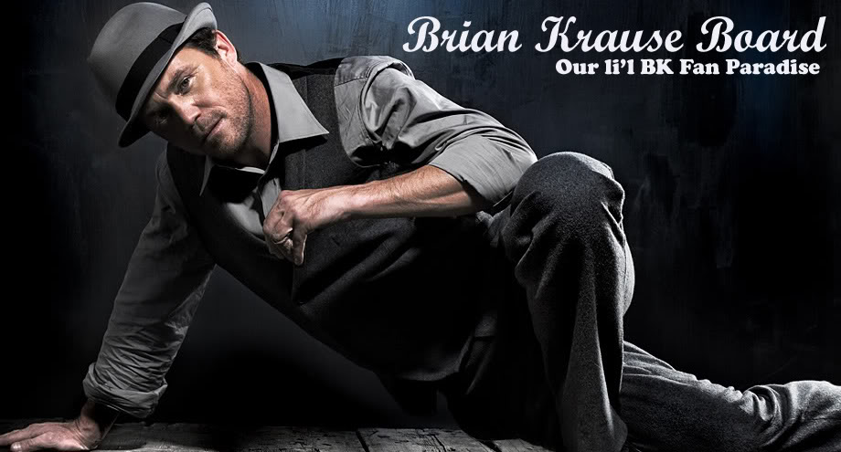 Brian Krause Board - Our li'l BK Fan Paradise!