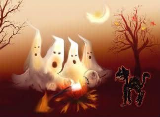 Halloween Halloween-cat