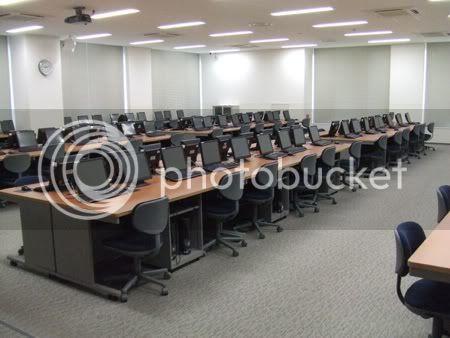 Zentrum der Mediale Computerraum