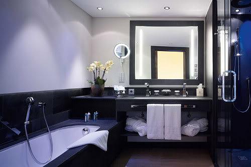 Villa der grünen Drachen Luxus-badezimmer-spa-hotel