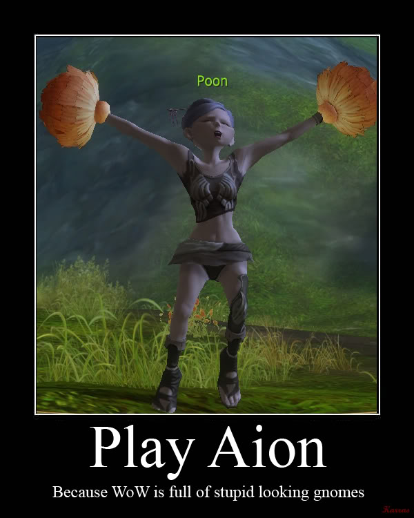 Aion Motivational Poster FTW AionMotivate