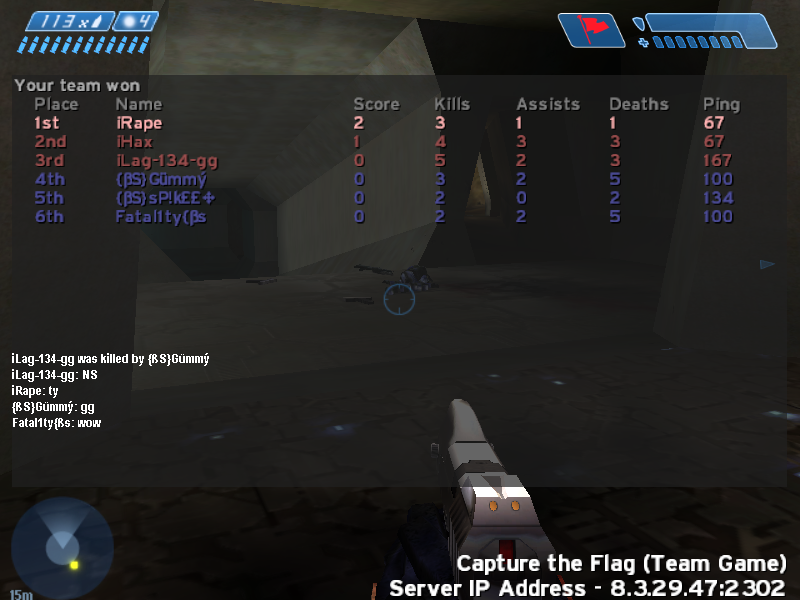 Couple random scrims before clan officially started Halo-20071214-211033