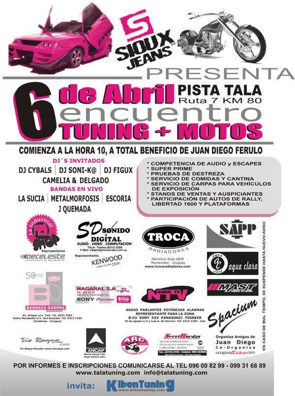TALA expo tuning 2008 Afichetala08