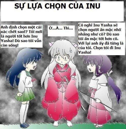 Truyện tranh hài Inuyahsa Choices