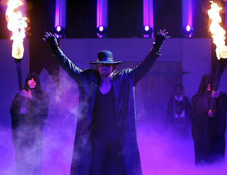 undertake is back Undertaker