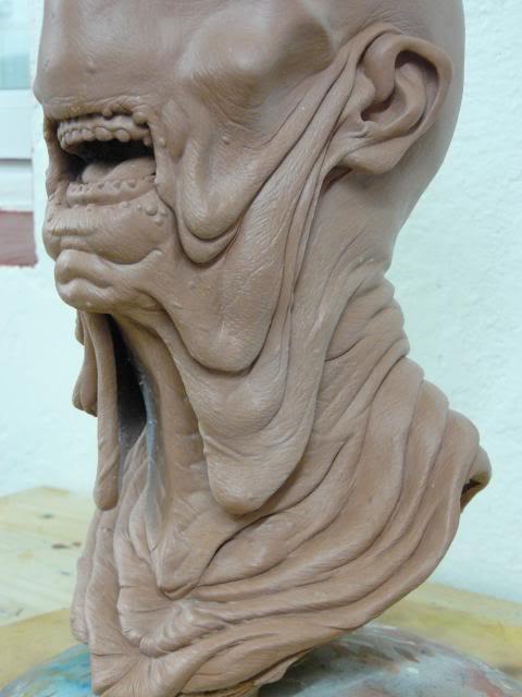 Le Labyrinthe de Pan : Paleman buste 1/1 Palemansculpt004_zpsebfbe8e6
