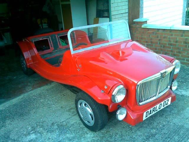 Magenta kit car for sale Noddy
