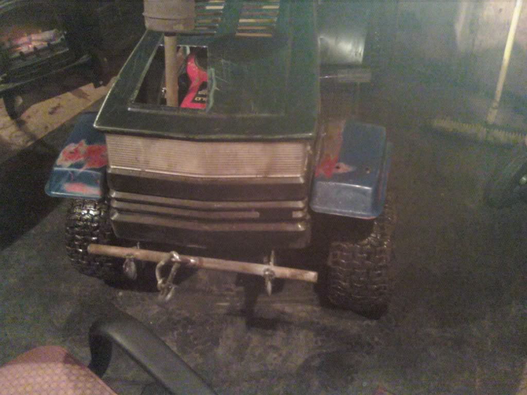 Heres My craftsman rider 14.5hp i/c gold ohv 1205012010