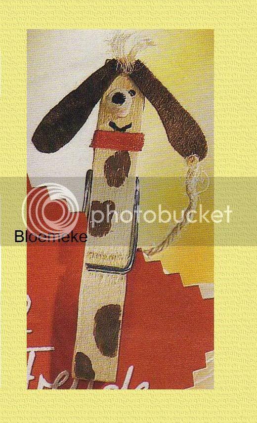Leuke hond (wasknijper) (volwassenen) Hond