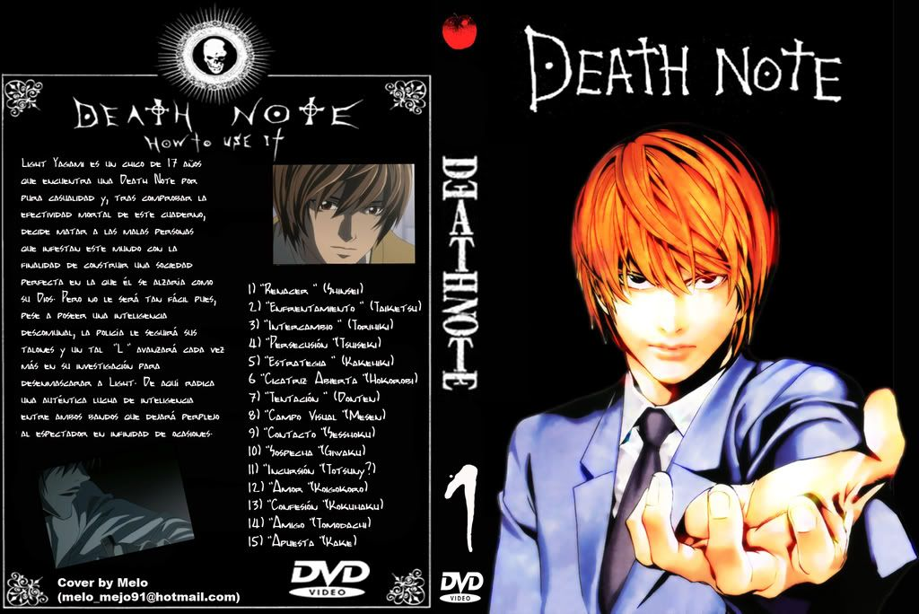 galeria mia xD Deathnotecover