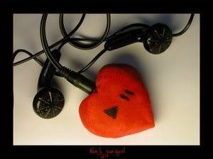 Love <3 in different Shapes <3 Heart-headphones