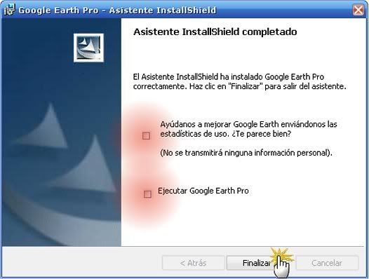 GOOGLE EARTH PRO ORIGINAL 2008 + CRACK 9