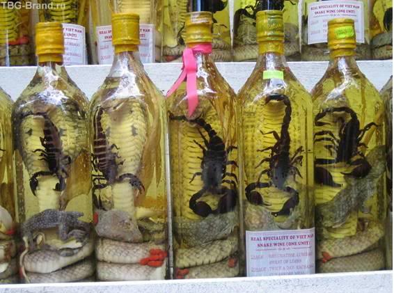 Alcool, hùùùm cool? (pour les courageux) Liqueur-serpent