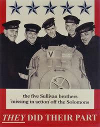 Salvar al soldado Ryan Sullivanbrothers