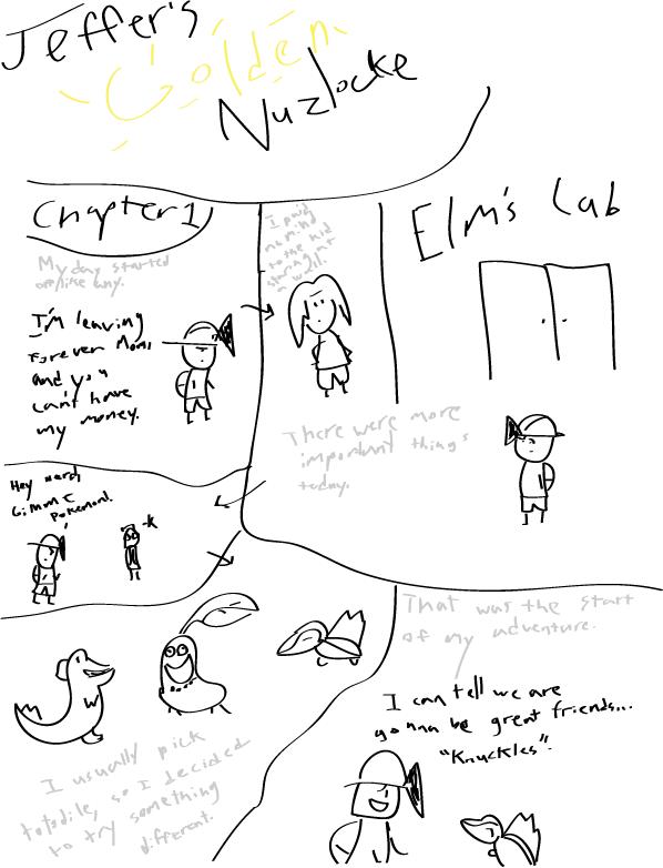 Jeffer's Golden Nuzlocke Chapter1