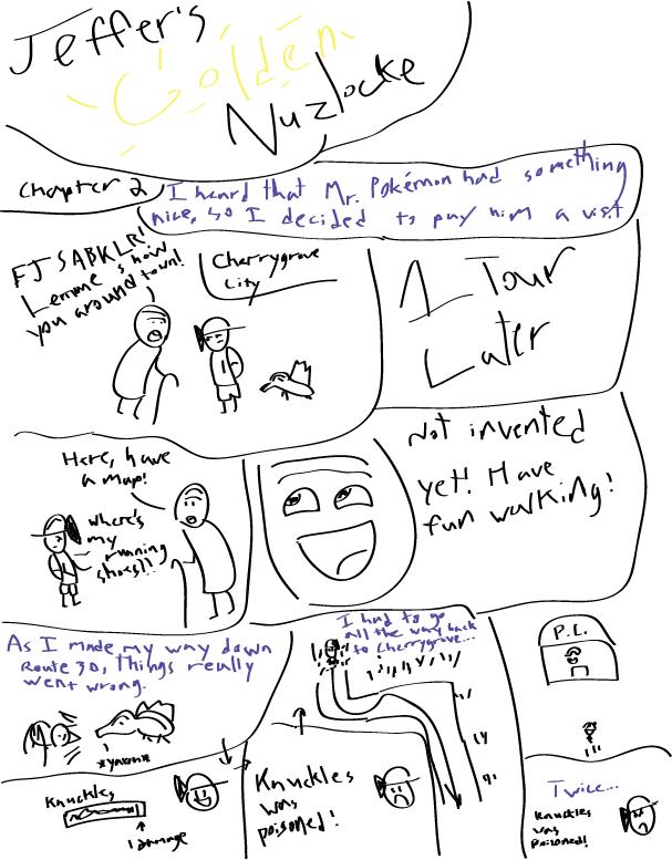 Jeffer's Golden Nuzlocke Chapter2