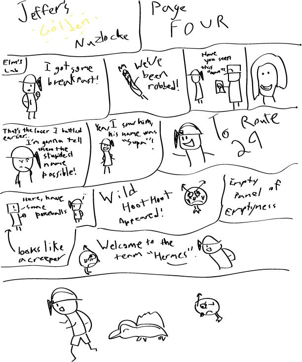 Jeffer's Golden Nuzlocke Chapter4
