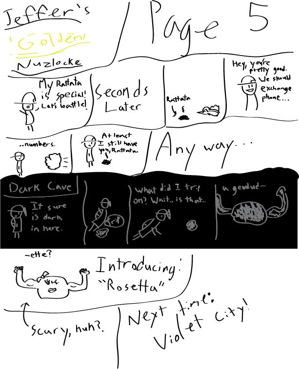 Jeffer's Golden Nuzlocke Chapter5