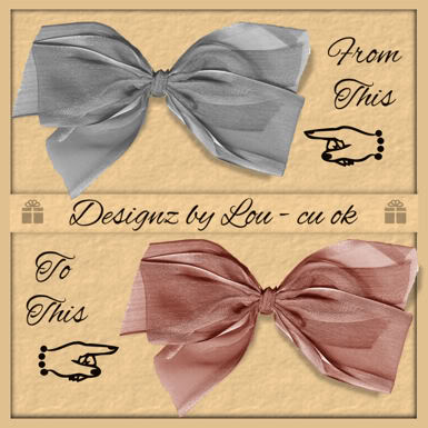 Greyscale Bow - By: Designz By Lou Preview-4