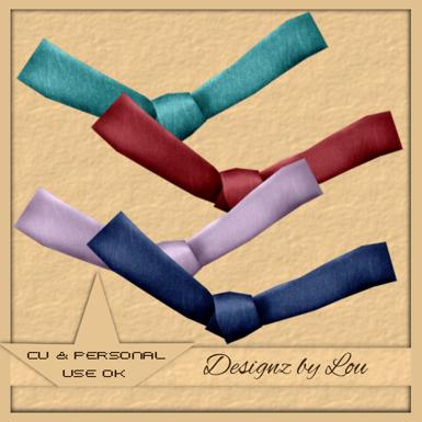 Denim Bows - By: Designz By Lou Preview-6