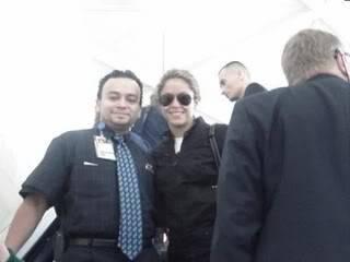 Shakira at JFK airport in New York heading to Nassau, Bahamas 11111111111