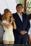 Shakira at the Independence Day parade in Leticia, Colombia Normal_000_Mvd6901991