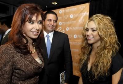 Shakira at a press conference at Columbia University, New York Normal_011-3