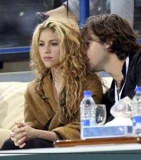 Shakira attends the World Tennis Championship in Abu Dhabi Normal_89256231