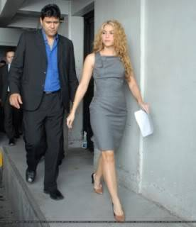 Shakira leaves her hotel in San Salvador Normal_DV4370981