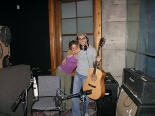 Shakira and Luis Fernando Ochoa at a recording studio Normal_n549010892_815934_10921