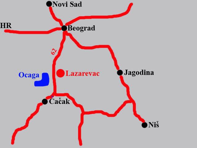 Download Topografska Karta Srbije Lazarevac