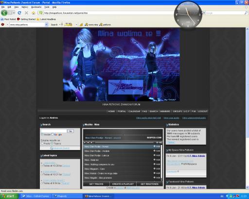 Konacni izgled foruma.. Portal