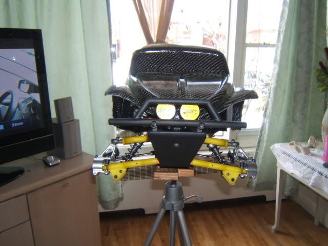 nouvel realisation d un  cab de baja 5 t fibre de carbonne Photo056