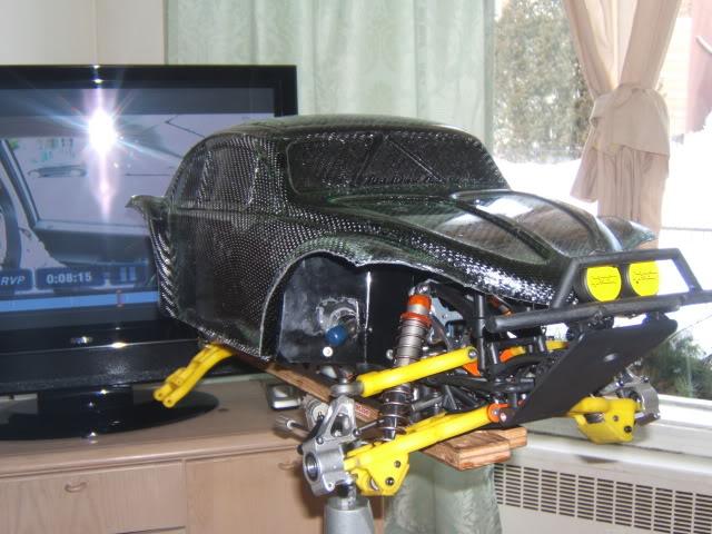 nouvel realisation d un  cab de baja 5 t fibre de carbonne Photo059