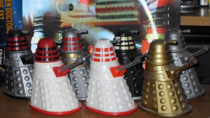 Vintage Dapol Doctor Who Figures Daleks-1