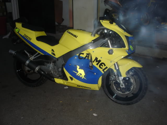 Kawasaki ZXR250 for  sale superbike newbie DSC01223