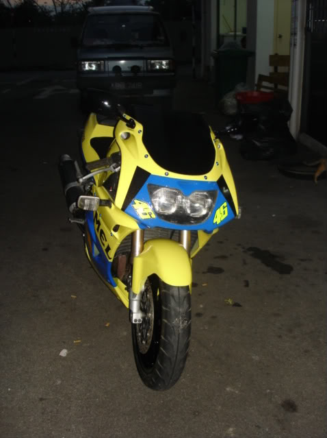 Kawasaki ZXR250 for  sale superbike newbie DSC01224